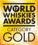 Gold Medal - World Whiskies Awards 2017