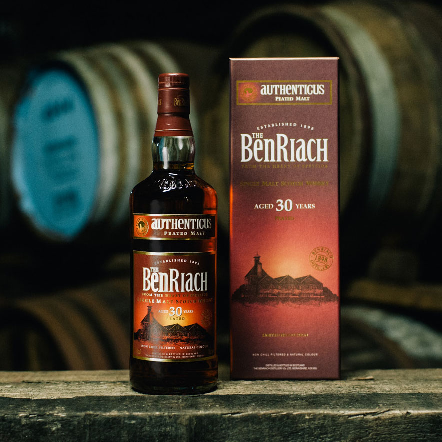 BenRiach Authenticus 30 Years Old Whisky