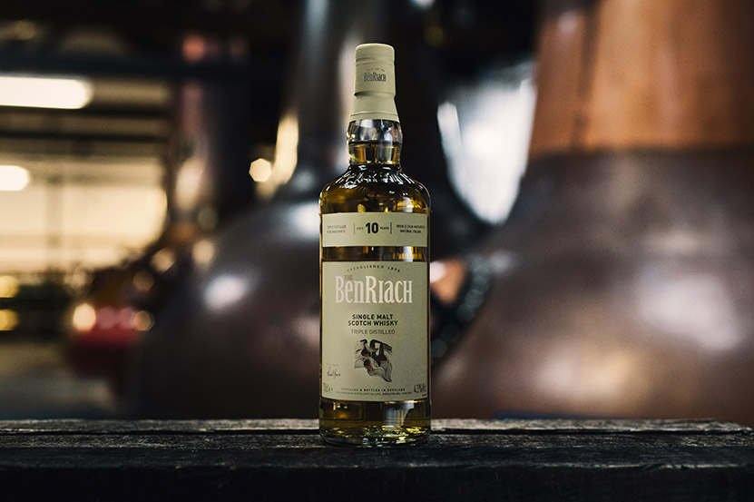 BenRiach Aged 10 Years Triple Distilled Travel Retail Exclusive