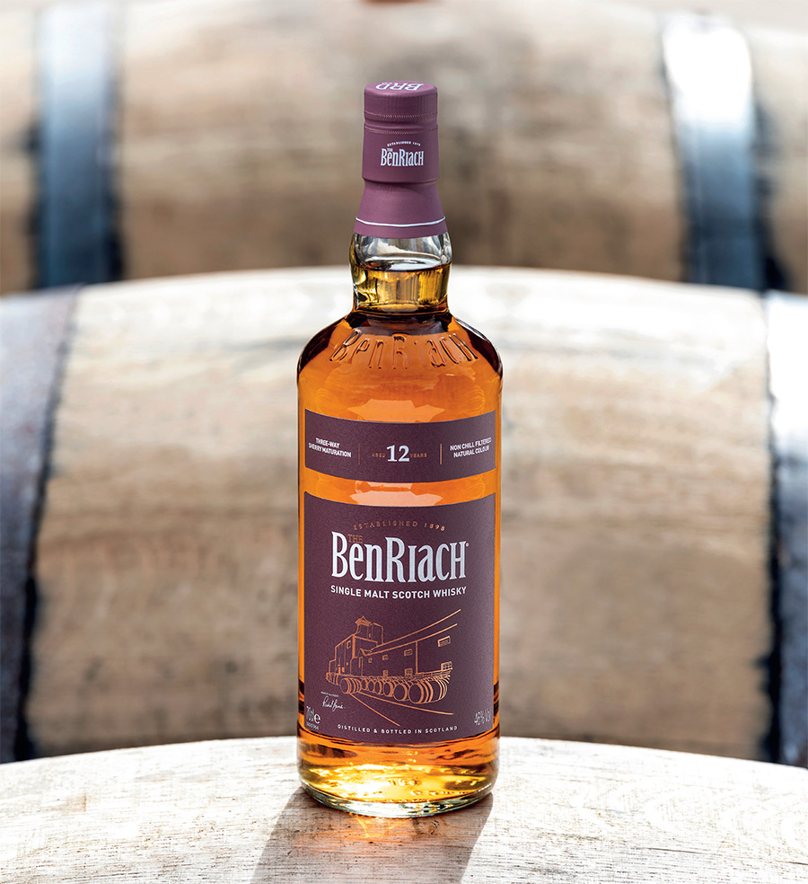 BenRiach Sherry Wood Aged 12 Years